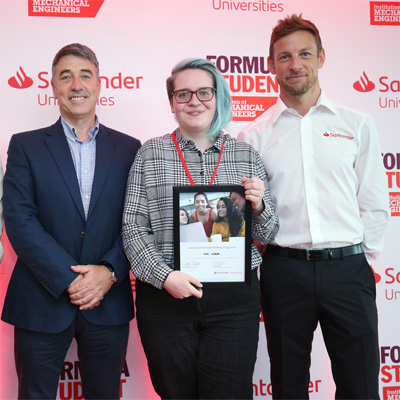 Cranfield student selected for inaugural Santander STEMships programme
